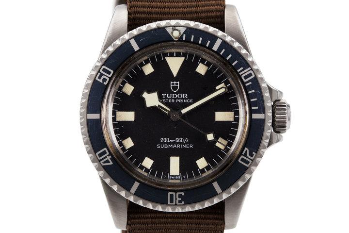 1981 Tudor Submariner 94010 Black Snowflake Dial photo