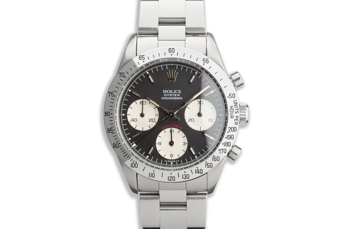 1974 Rolex Daytona 6262 Black Dial with Box and Papers photo, #0