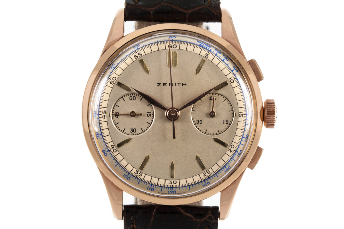 Zenith 18K Rose Gold Chronograph photo, #0