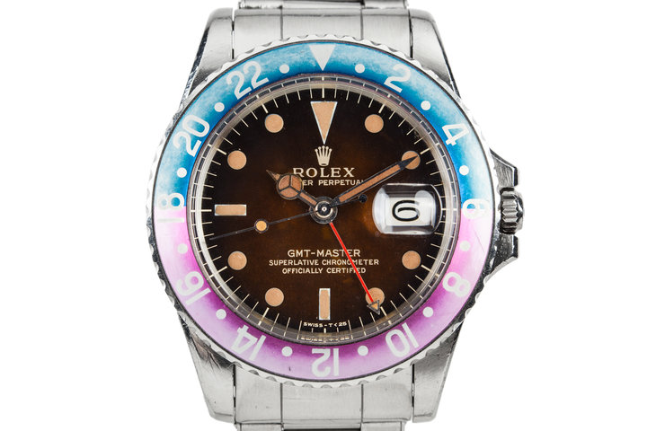 1965 Rolex GMT-Master 1675 with Tropical Gilt Dial photo