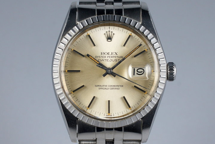 1978 Rolex DateJust 16030 Silver Dial photo