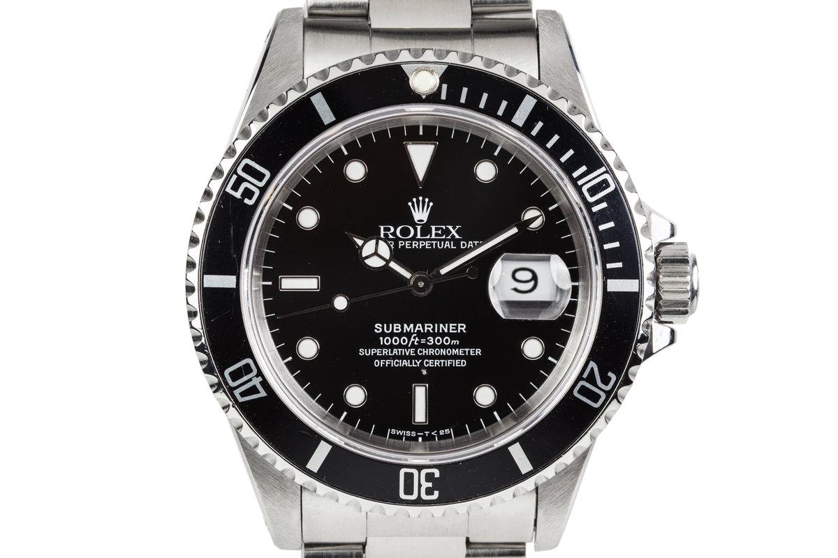 1991 Rolex Submariner 16610 photo, #0