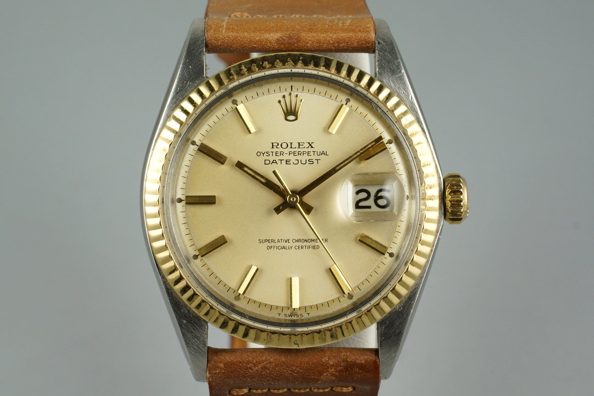 1969 Rolex Two Tone DateJust 1603 photo, #0