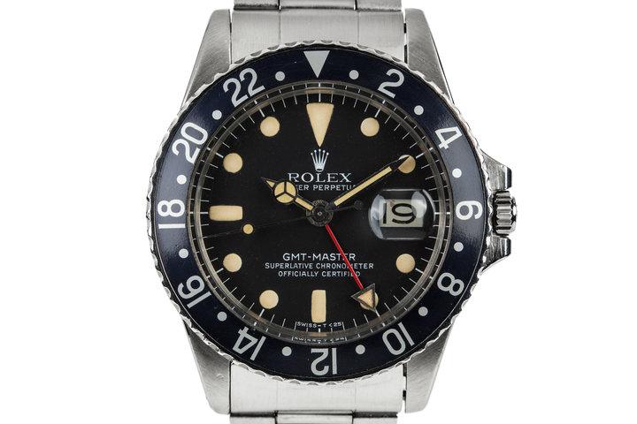 1966 Rolex GMT-Master 1675 photo