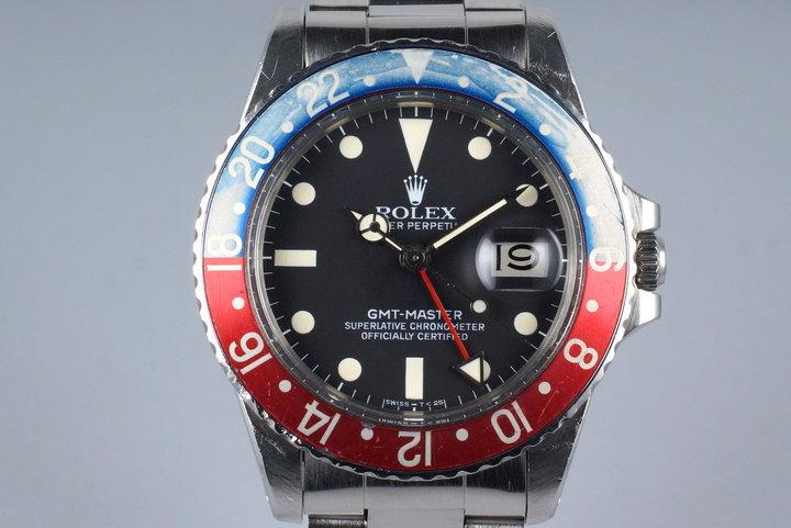 1979 Rolex GMT 16750 photo