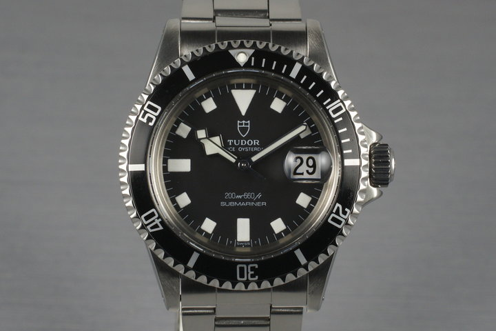 1976 Tudor Submariner 9411/0 Snowflake with Box and Papers photo