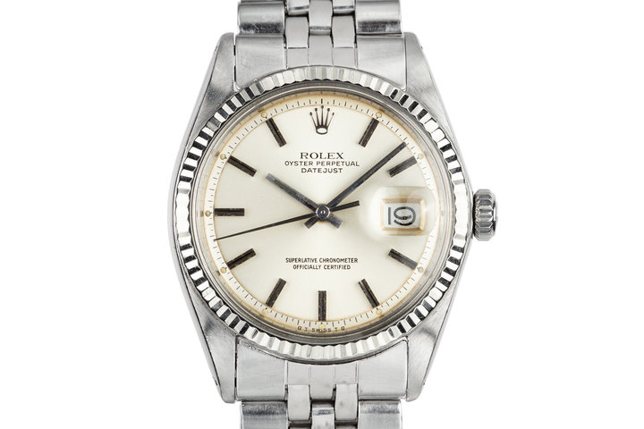 1972 Rolex DateJust 1601 with Silver Sigma Dial photo