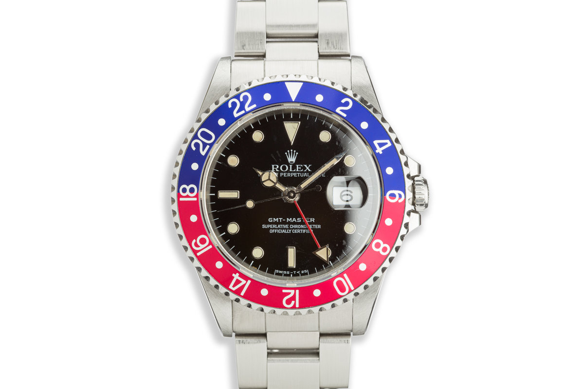 1991 Rolex GMT-Master 16700 with Box and Papers photo, #0