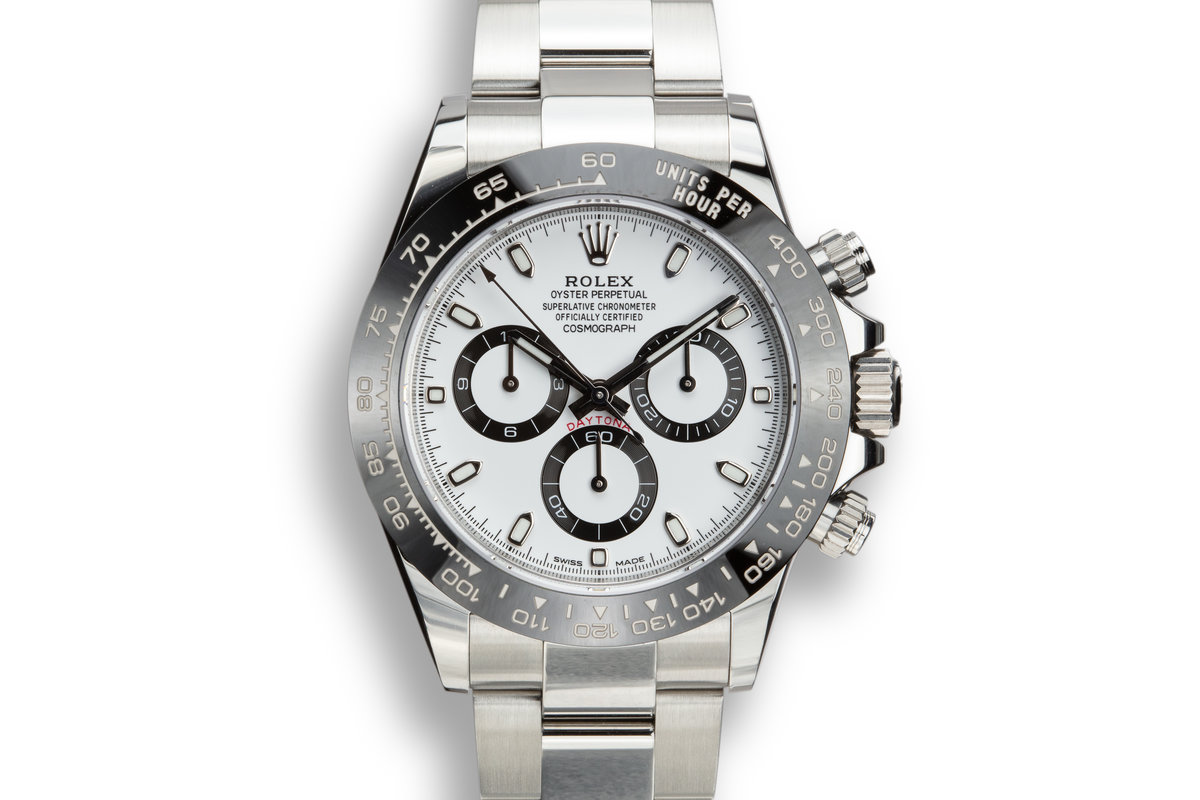 Rolex Daytona 116500LN White Dial with Box and Papers photo, #0