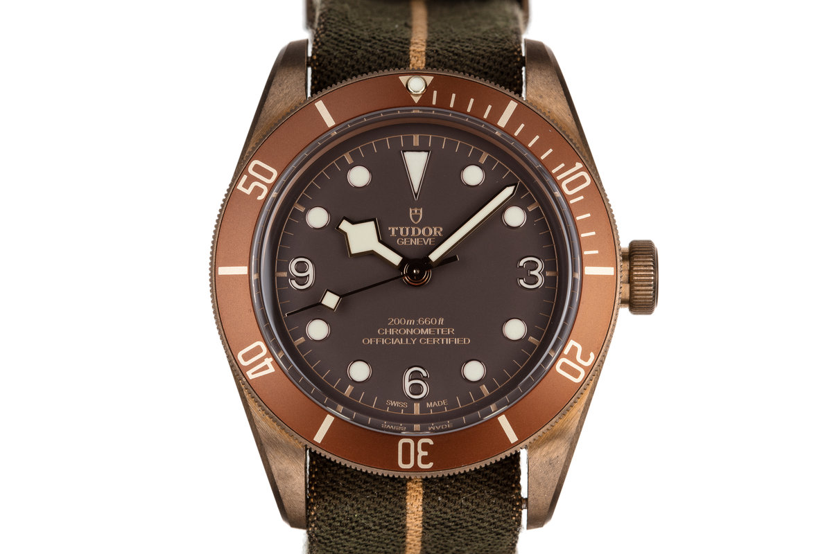 2017 Tudor Bronze Heritage Black Bay 79250BM with Box and Papers photo, #0