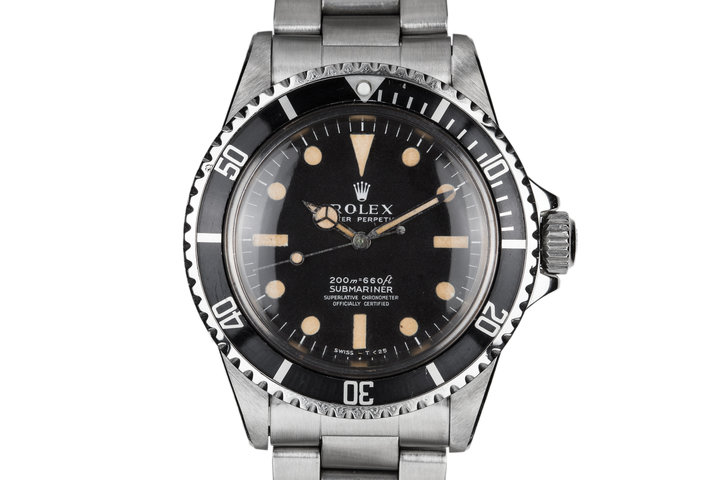 1967 Rolex Submariner 5512 Meters First Dial with Letter from Rolex USA President photo