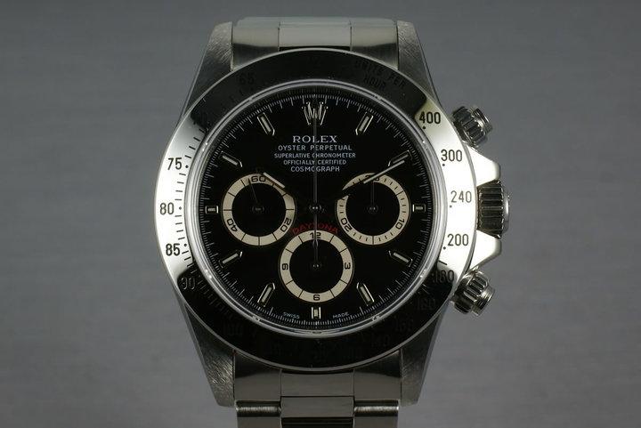 1995 Rolex SS Zenith Daytona Ref: 16520 photo