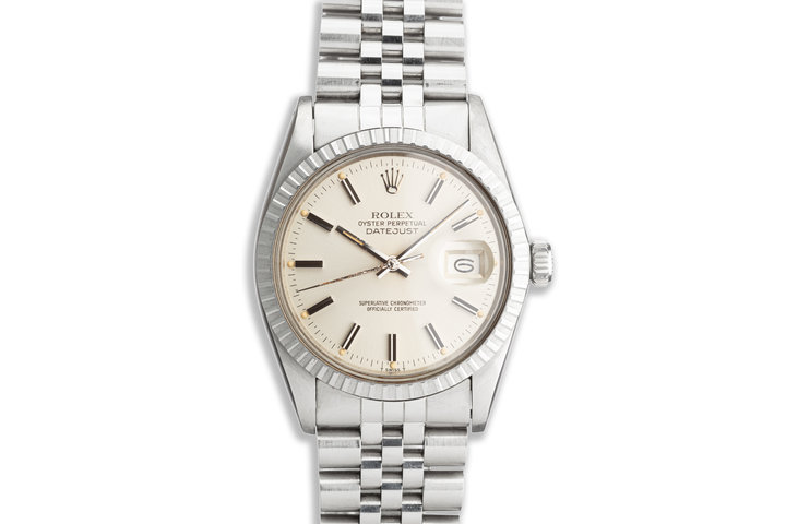 1982 Vintage Rolex DateJust 16030 with Silver Dial photo