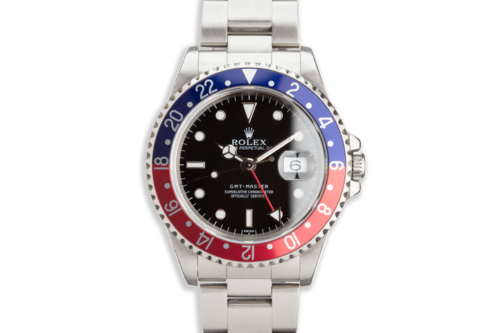 "1997 Rolex GMT-Master 16700 ""Swiss"" with Box and Papers photo"