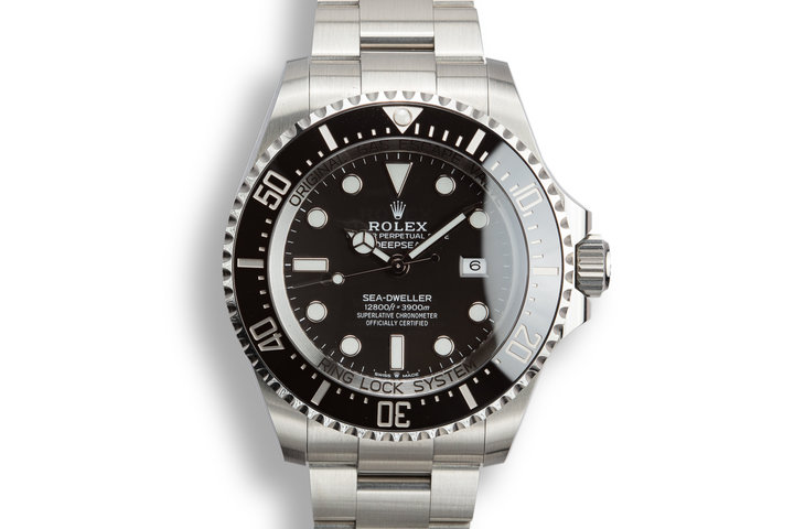 2018 Rolex Deep Sea-Dweller 126660 with Box and Papers photo