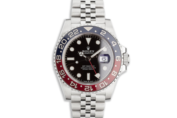2020 Rolex GMT-Master II 126710BLRO with Box and Card photo