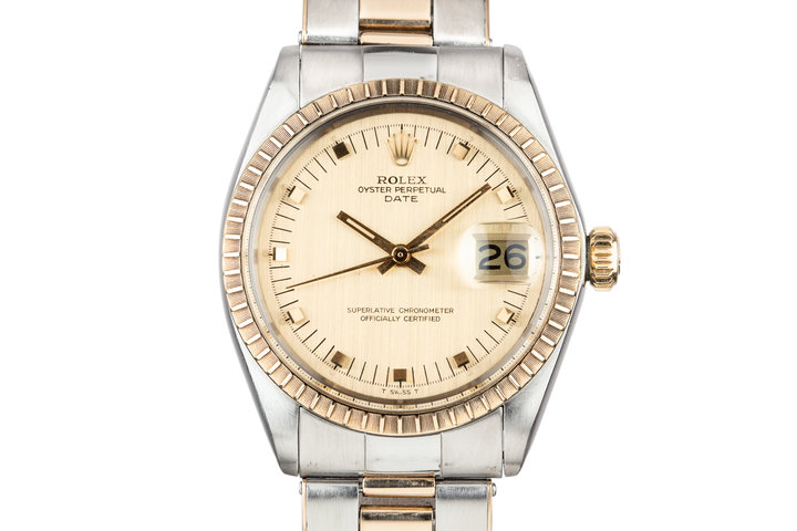 1970 Rolex Two Tone Date 1501 photo