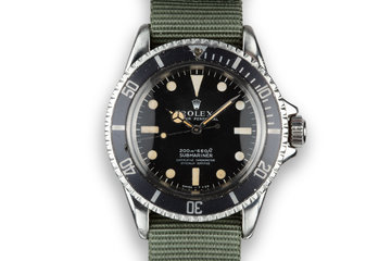 1967 Rolex Submariner 5512 photo
