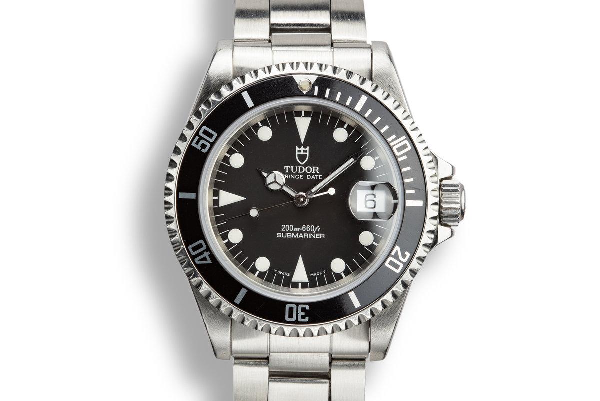 1995 Tudor Prince Date Submariner 79190 photo, #0
