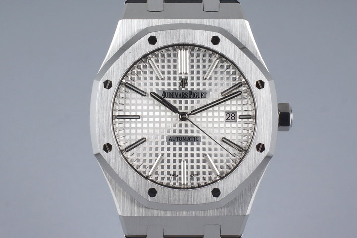 2013 Audemars Piguet 15400 Royal Oak with Box and Papers photo