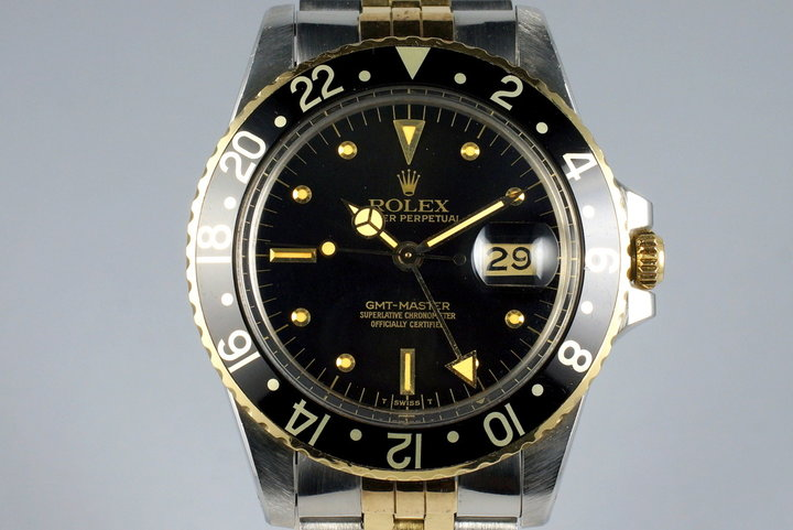 1979 Rolex Two Tone GMT 16753 photo