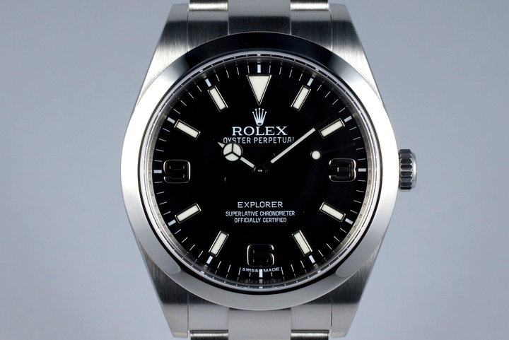 2012 Rolex Explorer 214270 with Box and Papers photo