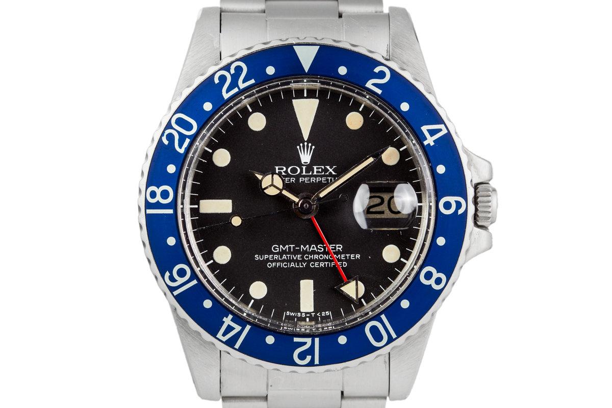 1978 Rolex GMT 1675 Blueberry photo, #0