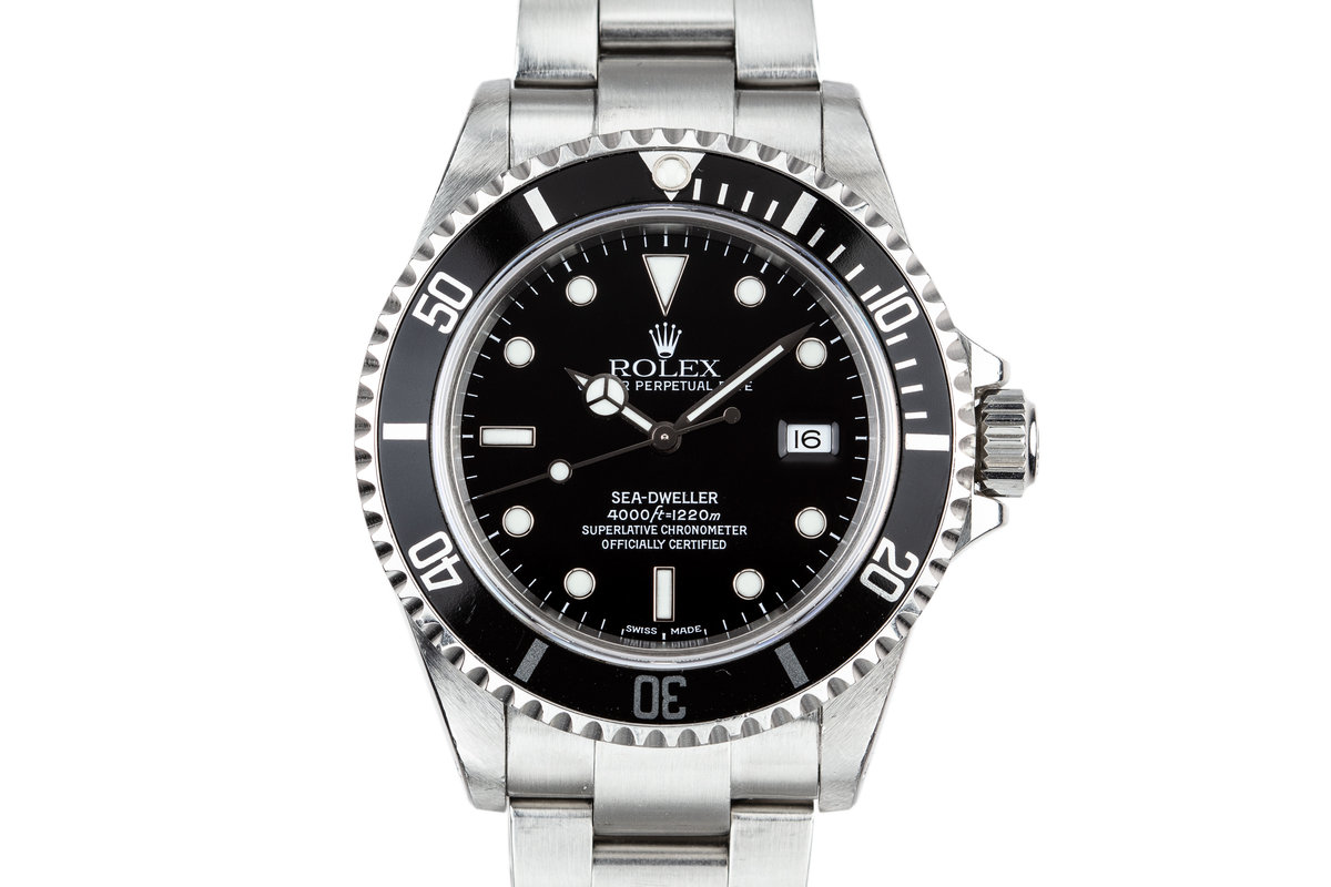 1999 Rolex Sea-Dweller 16600 with Box and Papers photo, #0