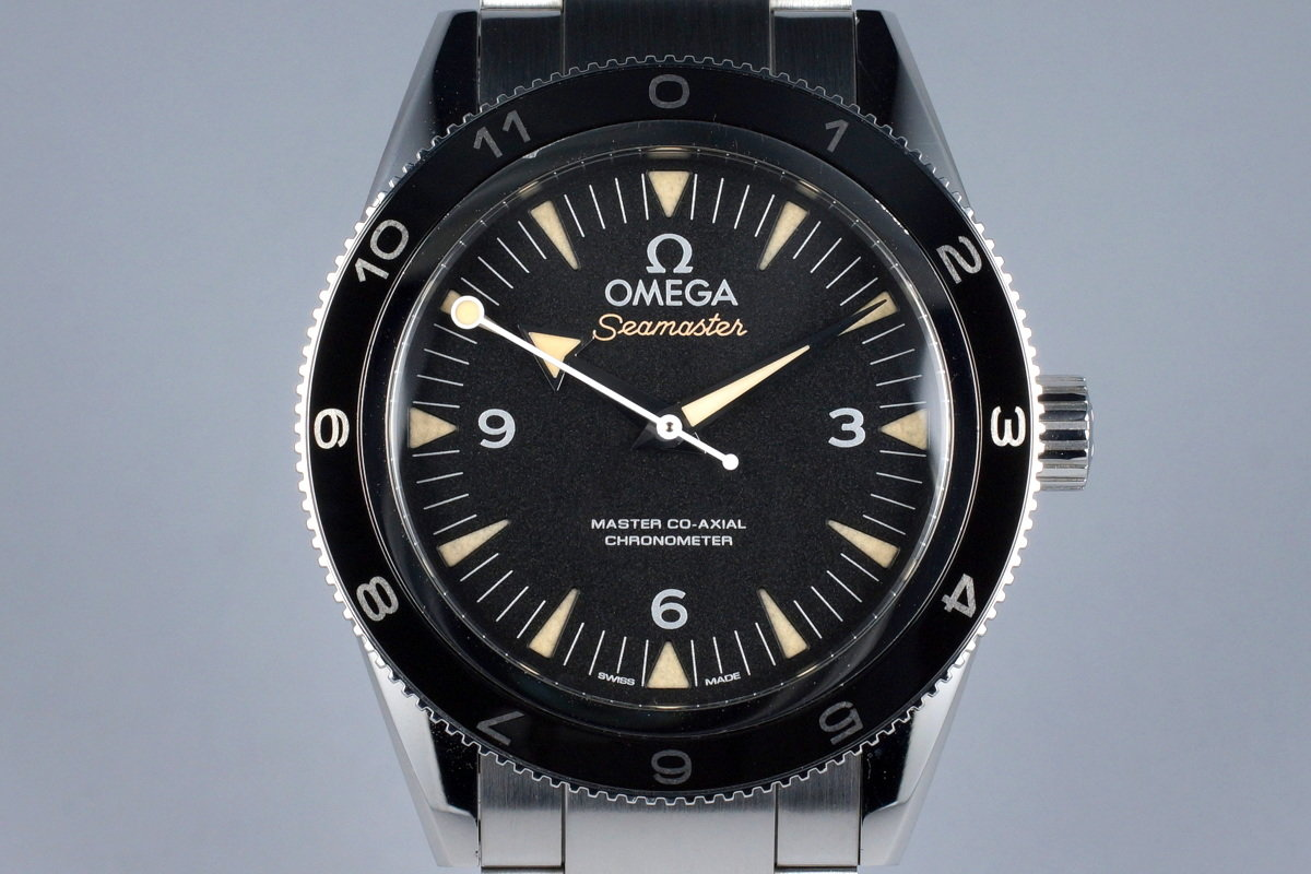 2015 Omega Seamaster 300 Lim. Ed. James Bond Spectre 233.32.41.21.01.001 with Box and Papers photo, #0