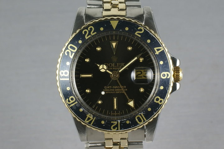 Rolex GMT 1675 Two Tone with Black Nipple Dial photo