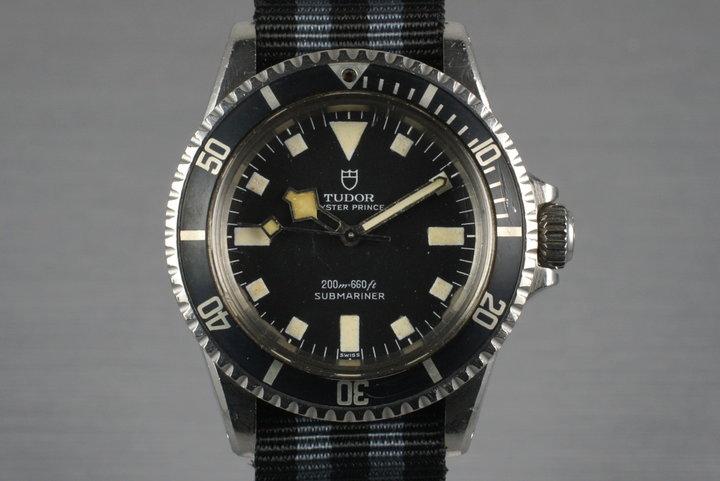 1970 Tudor Submariner 7016/0 Snowflake photo