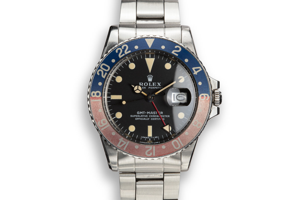 1972 Rolex GMT-Master 1675 with Mark 2 Dial photo, #0