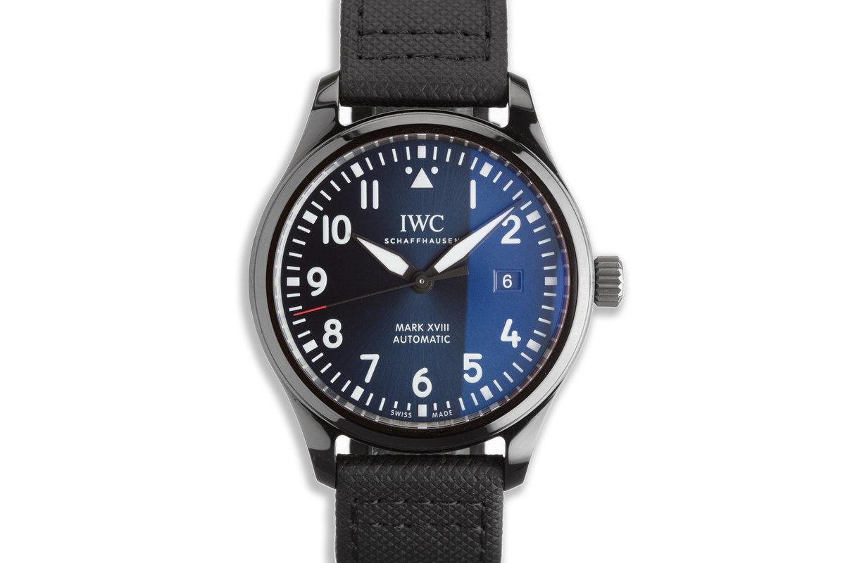 "2020 Pilot's Watch IW324703 Mark XVIII Edition ""Laureus Sport for Good Foundation"" photo, #0"