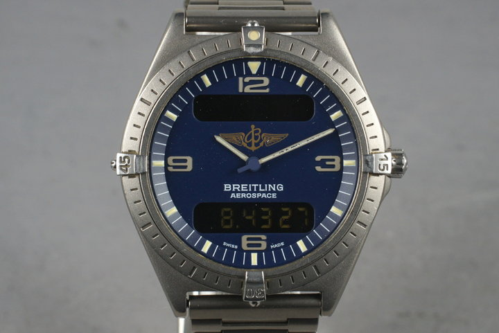Breitling Aerospace E56061 with Box and Papers photo