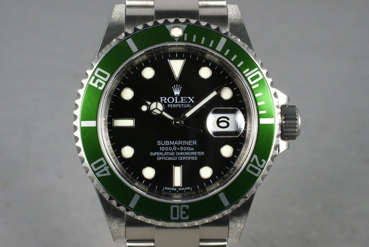 2007 Rolex Submariner 16610V with Box and Papers photo