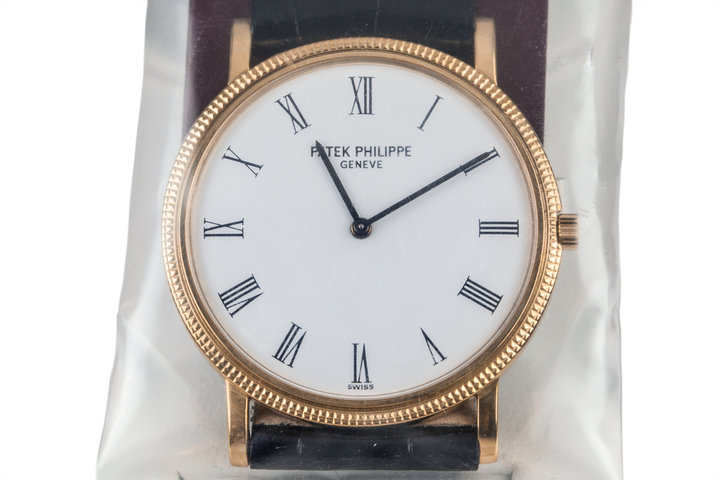 1977 Patek Philippe Calatrava 3520 Sealed from Patek Service Center with Box and Papers photo