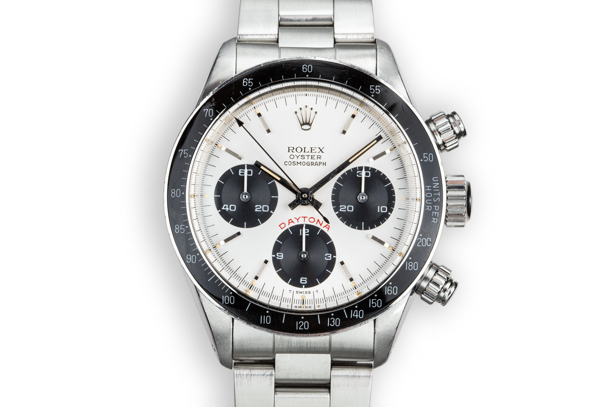 "1982 Rolex ""Big Red"" Daytona 6263 Silver Dial photo, #0"