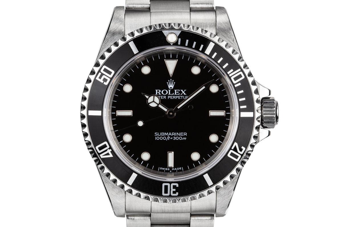 2005 Rolex Submariner 14060M photo, #0