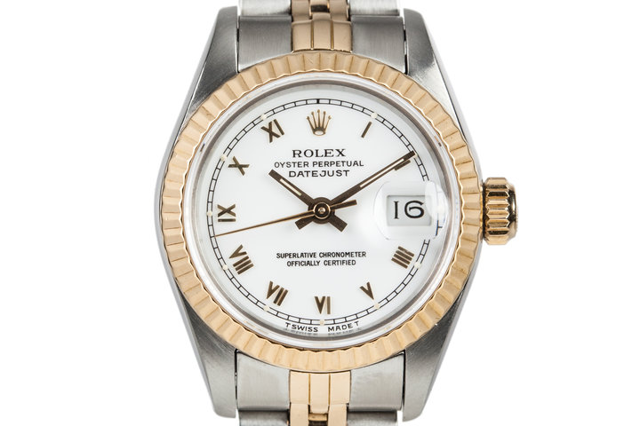 1986 Rolex Two Tone Ladies DateJust 69173 photo