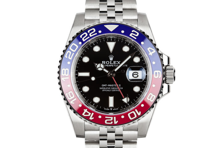 "2018 Mint Rolex Ceramic GMT-Master II 126710BLRO ""Pepsi"" photo"