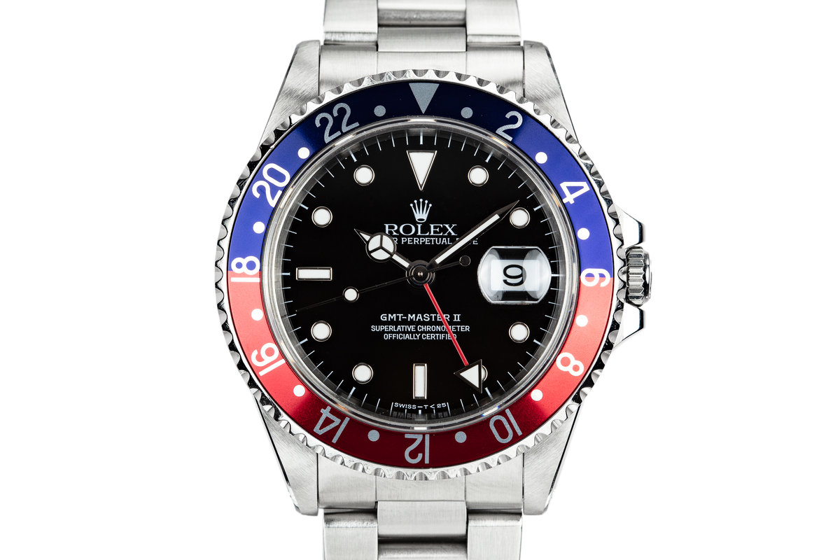 "1995 Rolex GMT-Master II 16710 ""Pepsi"" photo, #0"