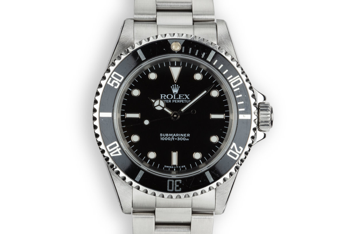 1990 Rolex Submariner 14060 photo, #0