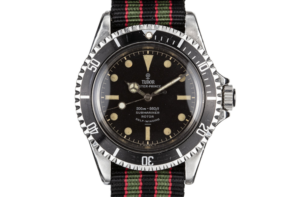 1964 Tudor Submariner 7928 with Gilt Chapter Ring Underline photo, #0
