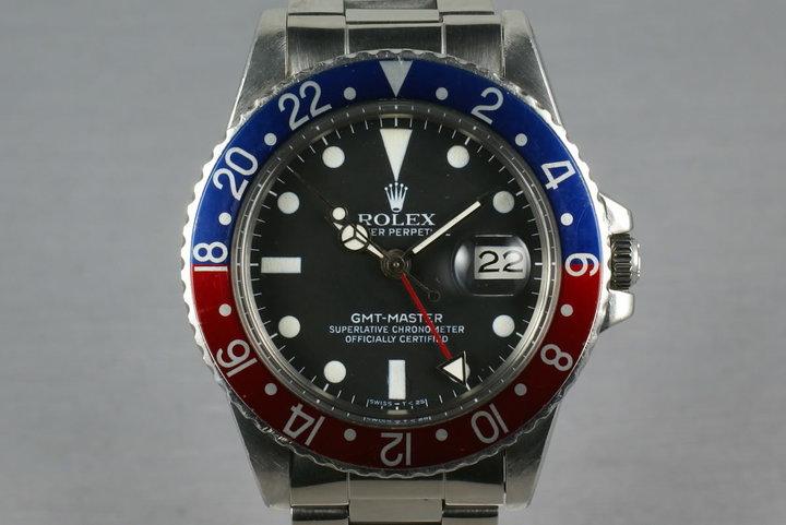 Rolex GMT  16750 Matte Dial photo