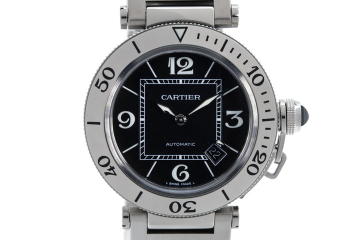 Cartier Pasha Sea Timer 2790 Black Dial photo