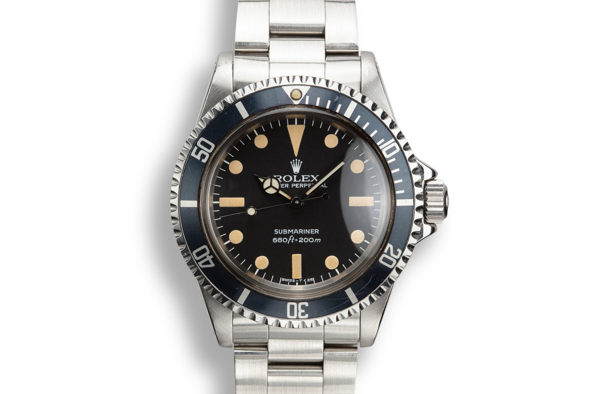 1979 Rolex Submariner 5513 with Mark 2 Maxi Dial photo, #0