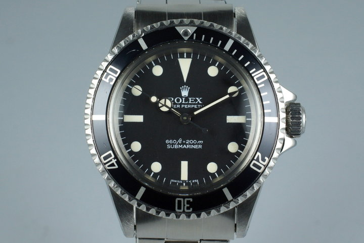 1977 Rolex Submariner 5513 photo