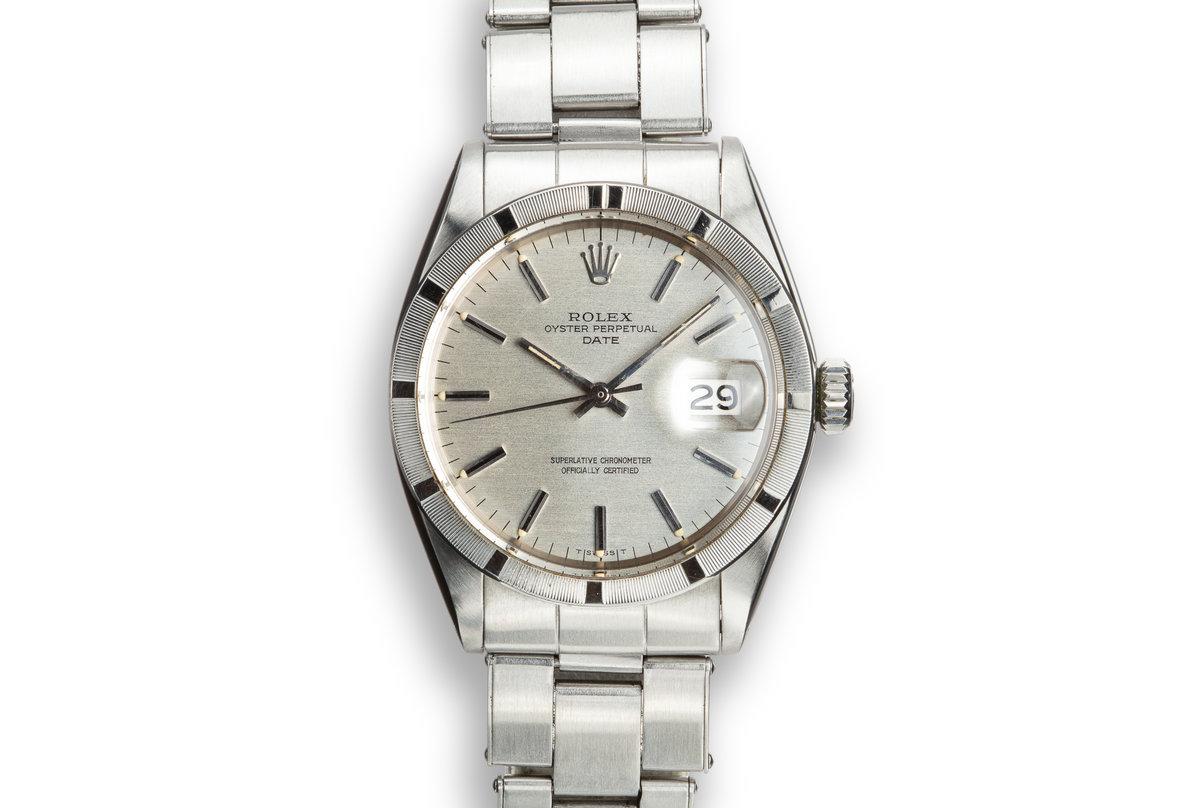 1970 Rolex Date 1501 Silver Dial photo, #0