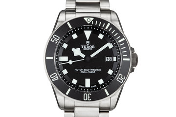 2016 Tudor Pelagos 25500TN Black Dial with Box and Papers photo