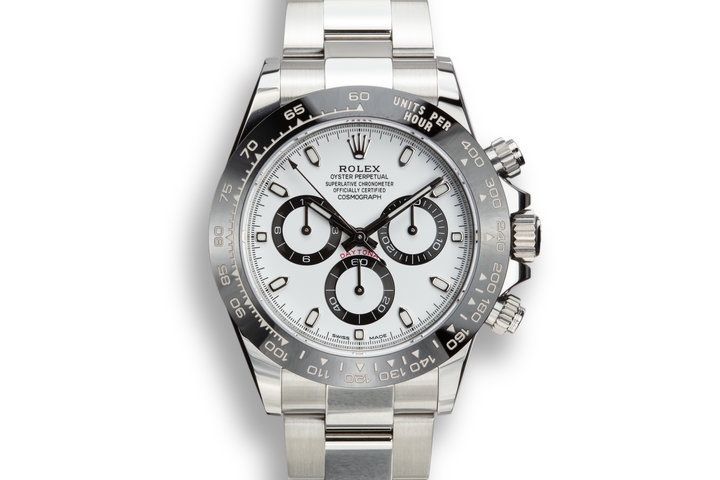 Rolex Daytona 116500LN White Dial with Box and Papers photo